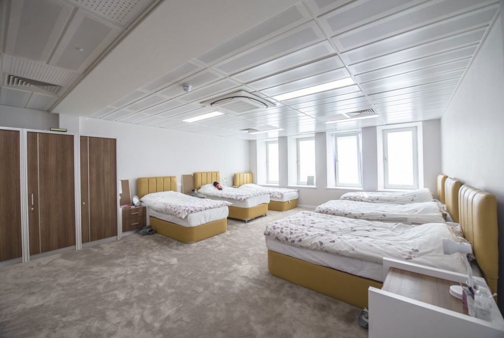 The facilities include a range of bedrooms with a capacity of 4-6 members in Our Boarding